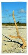 Headstand 2 Beach Towel