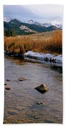 Headwaters Of The River Of No Return Beach Towel