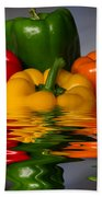 Healthy Reflections Beach Towel by Shane Bechler