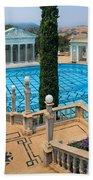 Hearst Castle Neptune Pool Beach Towel