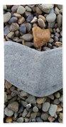 Heart Of Stone Beach Towel