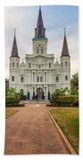 Heart Of The French Quarter Beach Towel
