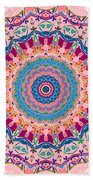 Hearts And Flowers No. 1 Beach Towel