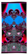 Hearts Ballet Curtain Call Fractal 121 Beach Towel