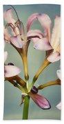 Heavenly Lilies Beach Towel