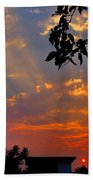 Heavenly Rays Two Beach Towel