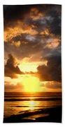 Heavenly Sunset Beach Towel