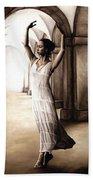Heaven's Angel Beach Towel by Richard Young