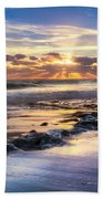 Heaven's Lights Beach Towel