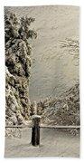 Heavy Laden Blizzard Beach Towel