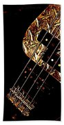 Heavy Metal Bass Beach Towel