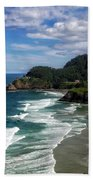 Heceta Head Beach Towel by Darren  White
