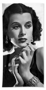 Hedy Lamarr - Beauty And Brains Beach Towel