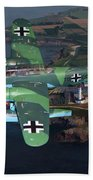 Heinkel He 115 Beach Towel