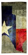 Hello Texas Beach Towel