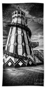 Helter Skelter Mono Beach Towel