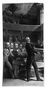Henry Clay Speaking In The Senate Beach Towel