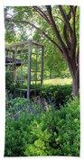 Herb Garden0981 Beach Towel