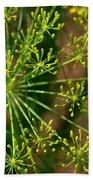 Herbal Abstract Beach Towel