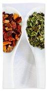 Herbal Teas Beach Towel