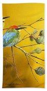 Here Comes The Sun - Rainbow Bee-eaters Beach Towel