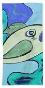 Here Fishy Fishy Beach Towel