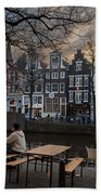 Kaizersgracht 451. Amsterdam. Holland Beach Towel