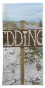 Here's The Wedding Beach Sheet