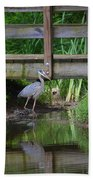 Heron 14-2 Beach Towel