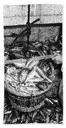 Herring Fishing Howth 1955  Beach Towel