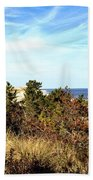 Herring Point Beach Towel