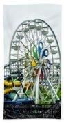 Hershey Park Ferris Wheel Beach Towel