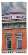 Heywoods Heywood Building In Old Sacramento California Beach Towel