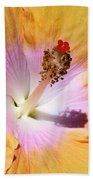 Hibiscus Center Beach Towel