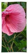 Hibiscus Profile Beach Towel