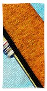 Hidden And Falling Tiled Version Beach Towel