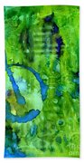 Hidden Blossoms Beach Towel