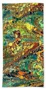 Hidden Figures By Rafi Talby Beach Sheet