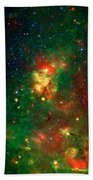 Hidden Nebula 2 Beach Towel by Jennifer Rondinelli Reilly - Fine Art Photography