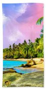 Hidden Paradise Beach Towel