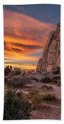 Hidden Valley Rock - Joshua Tree Beach Sheet