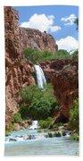 Hidden Waterfalls Beach Towel