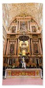 High Altar Of Cordoba Cathedral Beach Towel