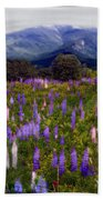 High Country Lupine Dreams Beach Towel