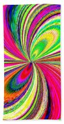 High Definition Color 1 Beach Towel