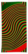High Definition Color 5 Beach Towel