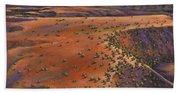 High Desert Evening Beach Towel