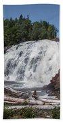 High Falls Beach Towel