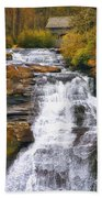 High Falls Beach Towel by Scott Norris