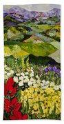 High Mountain Patch Beach Towel